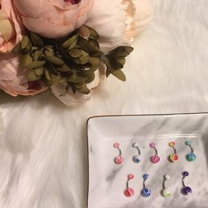 Brand New BellyButton Rings Surgical Steel